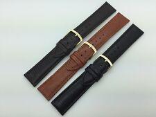 16mm 17mm 18mm 20mm MS716 Hadley Roma Lizard Grain Genuine Leather Watch Band