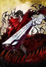 Hellsing Alucard ANIME POSTER WALL ART | Tg A4 a A0 UK venditore | E075