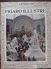 LE FIGARO ILLUSTRE L'EXPOSITION 1900 N 123