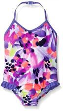 Osh Kosh Girls Floral One Piece Swimsuit Size 4 5 6