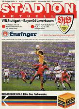 BL 86/87 VfB Stuttgart - Bayer 04 Leverkusen