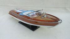 "Riva Aquarama 20"" 3 Options Wood Model Boat L50 Handmade Italian Speed Boat"