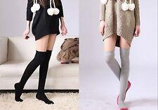 Women Girls school Over Knee Thigh High Stockings Leg Warm long Socks Tights