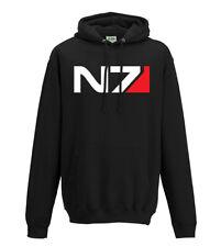 Mass Effect N7 logo hooded sweatshirt