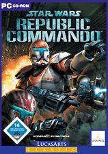 Star Wars: Republic Commando-PC-tedesco in DVD ORIGINALE GUSCIO