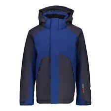 Cmp Outdoor Jacket Adventurejacke Boy Jacket Fix Hood Dark Blue Twill