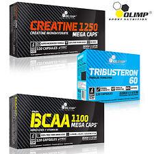 Creatine Monohydrate + Tribusteron 60 + BCAA 90/180 Capsules Tribulus Terrestris