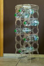 """Flaschenregal  Plexiglas für 9 bis 18 Flaschen """"Meinplexi"""""""