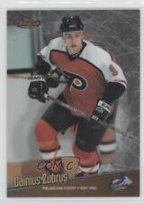 1998 Topps Finest No-Protector 14 Dainius Zubrus Philadelphia Flyers Hockey Card