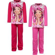 mia and me pigiama bambina cotone 100% manica lunga