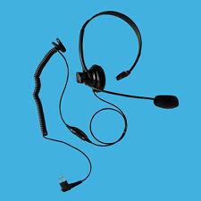 Over the Head Mono Headset for Telecom Motorola EP450 Mag One A8 BPR40 BPR20
