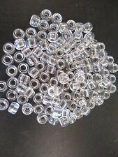 Crystal Pony Beads Loose Barrel Shaped Plastic 9mm 50 100 250 500 1000