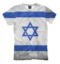 t-shirt ISRAEL - TEL AVIV ERUSALIM star of David tee full print all over