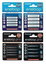 Panasonic eneloop / eneloop pro Akku Accu AAA Micro AA Mignon aufladb. Batterien