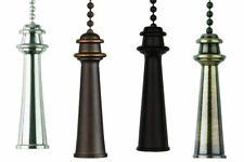 Zugkette Zugschnur für Deckenventilator Anhänger Trophäe in verschiedenen Farben