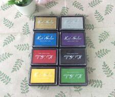 1 x BIG (9.4cm x 6cm) Ink Stamp Pad Craft DIY Scrapbooking -8 color choice