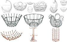 New chrome Metal Fruit Basket Holder Kitchen Dinning Table Decoration Fruit Bowl