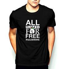 All United for Free Palestine T-Shirt Freedom Palestina Gaza War Terror Jews New