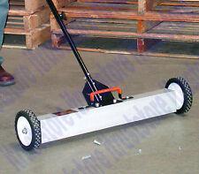 Magnetic Push Sweeper Metal Steel Pick Up Sweeping Floor Tool Broom Magnet