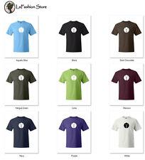 Tau  symbol Greek letter T-shirts S-5XL
