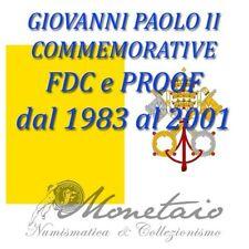 (Monetaio) Vaticano - Commemorative in Argento Giovanni Paolo II 1983-2001