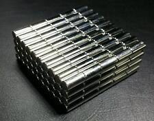 10/25/50 Neodymium N52 Long Cylinder Magnet Super Strong Rare Earth Disc D6x20mm