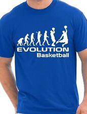 Evolution of Basketball Sport Mens T-Shirt  Size S-XXL