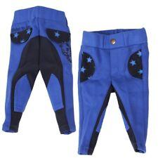 Pantalones de bebé, montar, babyreithose para los todos pequeñas, Azul Cobalto