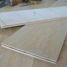 "10"" Premium Oak Wide Light Brushed & Unfinished Engineered Grade Flooring EC20P"