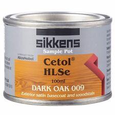Sikkens CETOL HLSe TIMBER FINISH Moisture Regulating, DARK OAK 009 - 100ml Or 1L