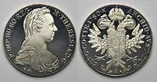 1780 Austria Large Silver  Proof-restrike Maria Theresia 1 Thaler