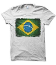 Bambini T-Shirt 8 COLORI Brasile Bandiera Union Jack-Bambini brasil-brazilian