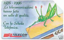 CARDEX 96   1976 / 1996 SCHEDA TELEFONICA TELECOM 546