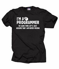 I Am A Programmer T-Shirt Funny Profession Tee Shirt Occupation Shirt