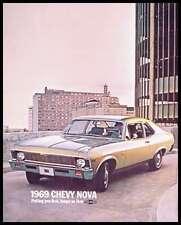 1969 Chevy Chevrolet Nova Brochure Coupe Sedan SS 69 GM