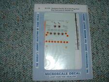 Microscale N  decals #60-404 NP 40 50' Plug Door Box Cars 50' Bonds Car  HH