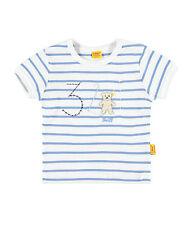 /%/%/% STEIFF Newborn Summer Colours Shirt blau gestreift Gr.56-86 NEU /%/%/%