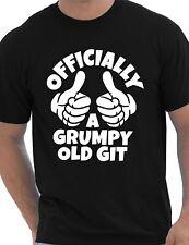 Grumpy Old Git Birthday Retirement Gift Mens T-Shirt Size S-XXL