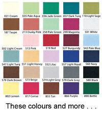 8,9,10,12,14,16,18,20,22 Pulgadas Invisible/cremalleras ocultas todos los colores y más