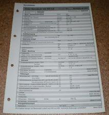 Inspektionsblatt Honda Civic Aerodeck 1,6i SR/LS 1998!