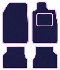 Suzuki Samurai/Santana/SJ 410 Velour Blue/Pink Trim Car mat set
