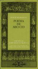 Poema del Mio Cid (Clasicos Castalia) (Spanish Edition) by Anonimo