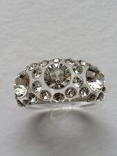 Dolce Jewels A71- 09  Swarovski Elements Crystal Acrylic Statement Ring