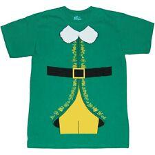 Buddy Elf Movie Costume T-Shirt New