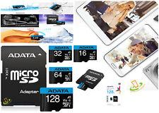 16 32 64 128GB Micro SD Card TF Class 10 Memory Samsung Nintendo Switch Adapter