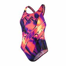 Speedo Fractal Glaze Placement Digital Powerback Womens Swimsuit