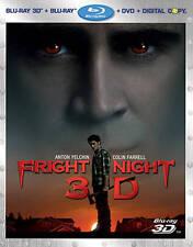 Fright Night (Blu-ray/DVD, 2011, 3-Disc Set, Includes Digital Copy; 3D/2D)