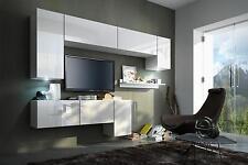 Wohnwand hängend modern  Wohnzimmer-Sets in Stil:Modern, Farbe:Schwarz | eBay