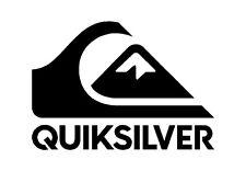 "Quiksilver Surf Logo 6"" Vinyl Decal Quicksilver Window Surfboard Sticker"