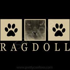 Ragdoll Cat Portrait T-Shirt Tee - Men Women's Youth Tank Short Long Sleeve